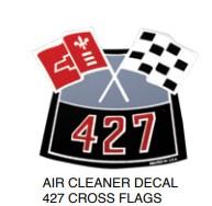 Air Cleaner Decal 427