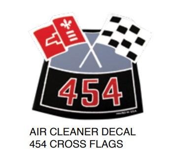 Air Cleaner Decal 454