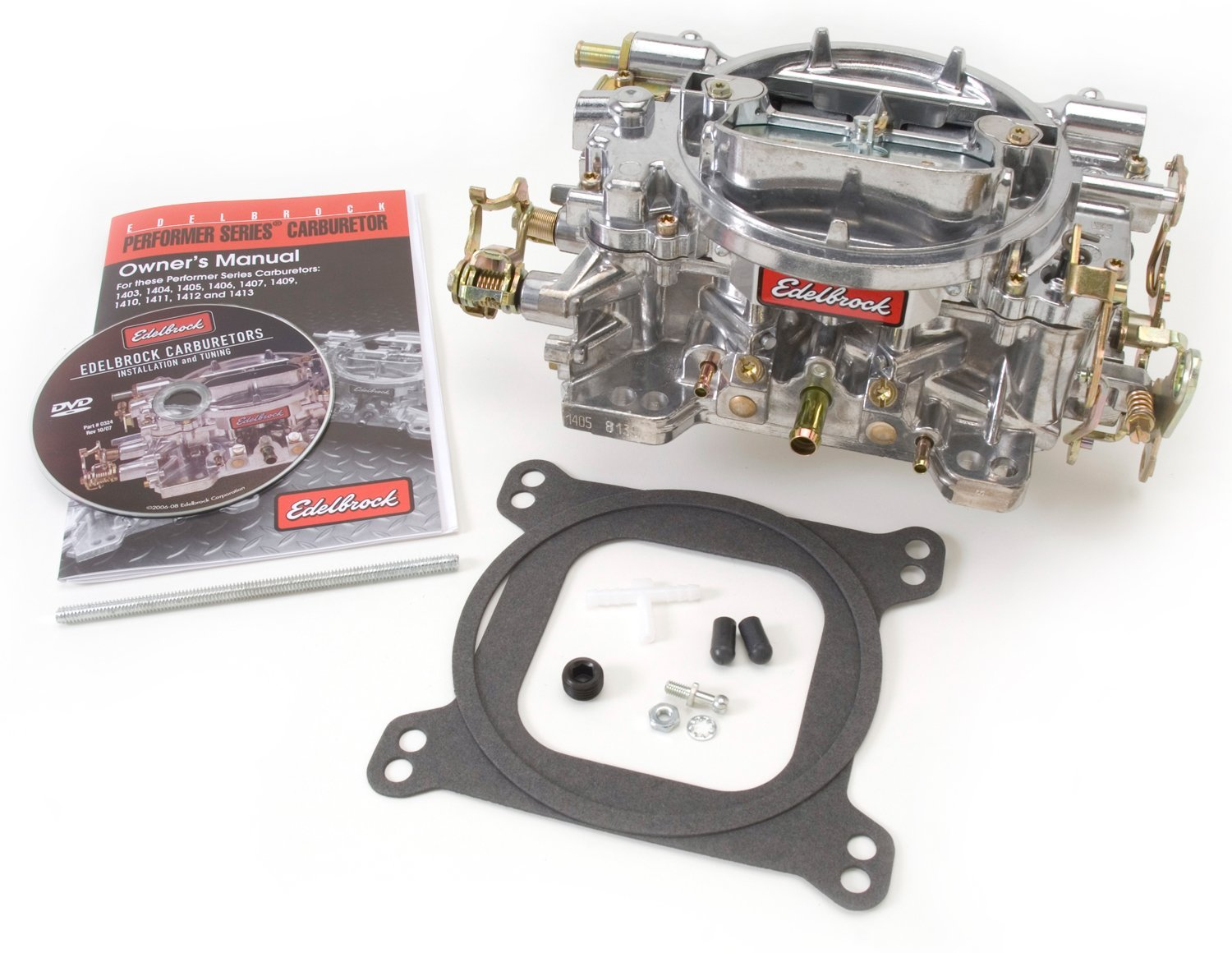 Edelbrock  Carburetor 600cfm - Manual choke