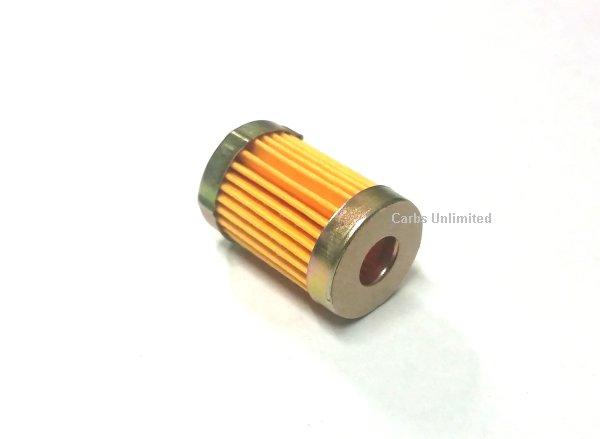 GAS FILTER SHORT - 1 inch