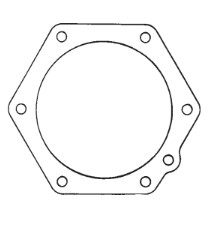 Scondary Cover Gasket