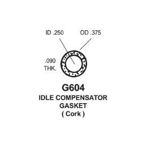 Gasket - CORK IDLE COMPENSATOR Gasket