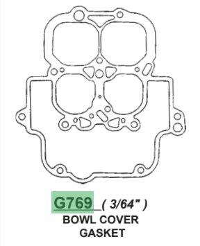 Gasket - Bowl