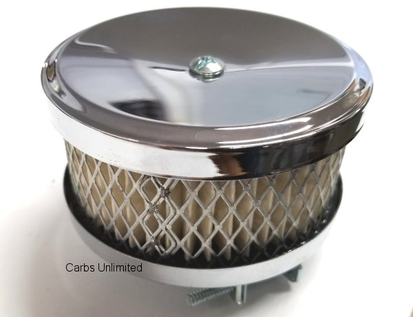 Chrome Filter Assem. 4in price Each