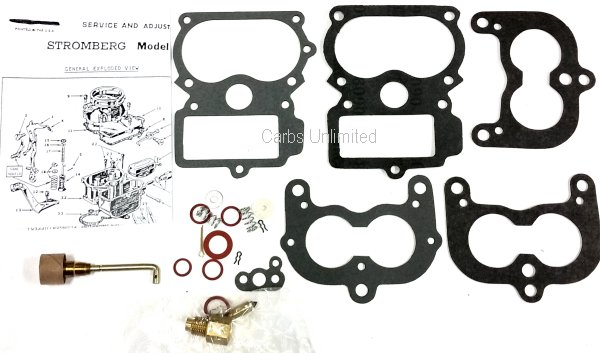 Classic Carburetor Kit - Stromberg EE-1 14 16