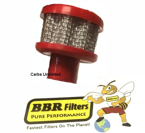 Bill B BBR Filters Valve Cover Filter RED