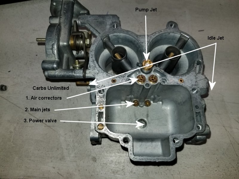 Labor Service - Rejet carb to your specs per/carb