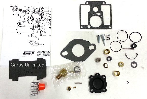 Zenith Fuel Systems Rebuild Kit