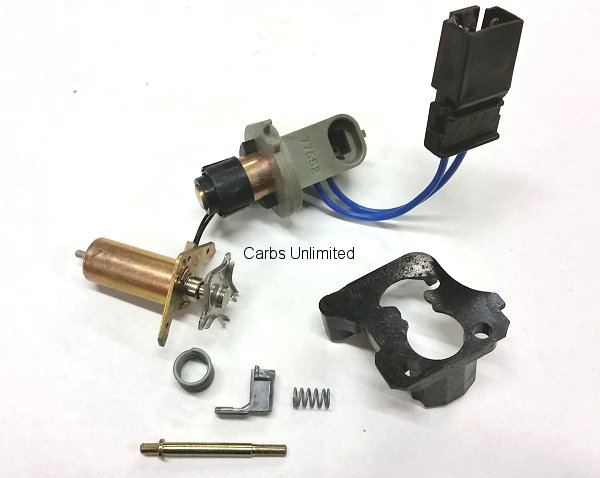 NOS Mixture Control Solenoid M/C Dual Capacity PU with extra pigtail 85-87