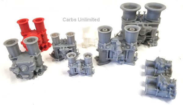 Carb small Printed Model