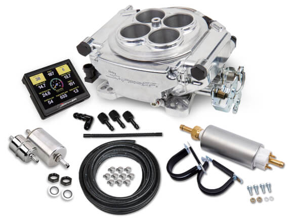 HOLLEY SNIPER EFI up to 650hp Holley 4 barrel MASTER KIT
