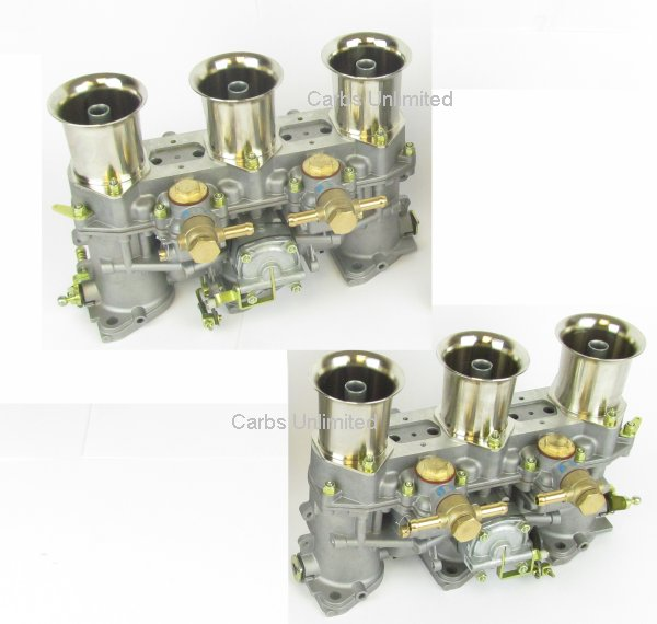 46 IDA 3C new Pair Weber Carburetor