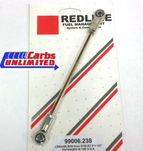 Adjustable Linkage Rod 8mm(5/16) Eyelet Metal Ends 7 1/2 -  8 1/2