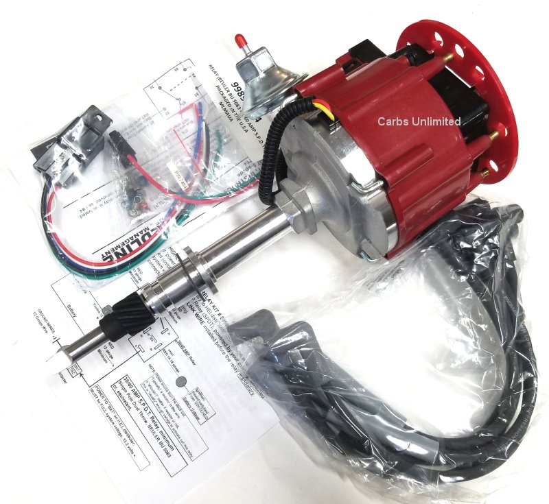 HEI distributor and Wires for 258 6cyl AMC JEEP