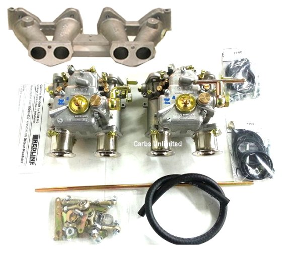 MG / TRIUMPH Dual Weber 40 DCOE Conversion Kit