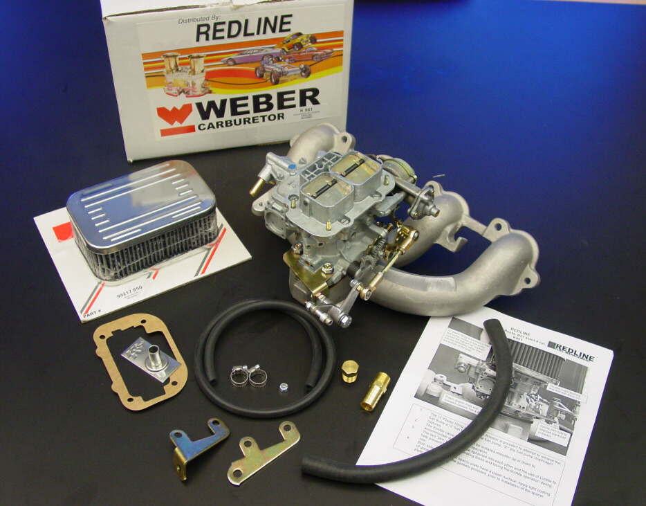 Marine Volvo Penta Weber Carb Conversion Kit