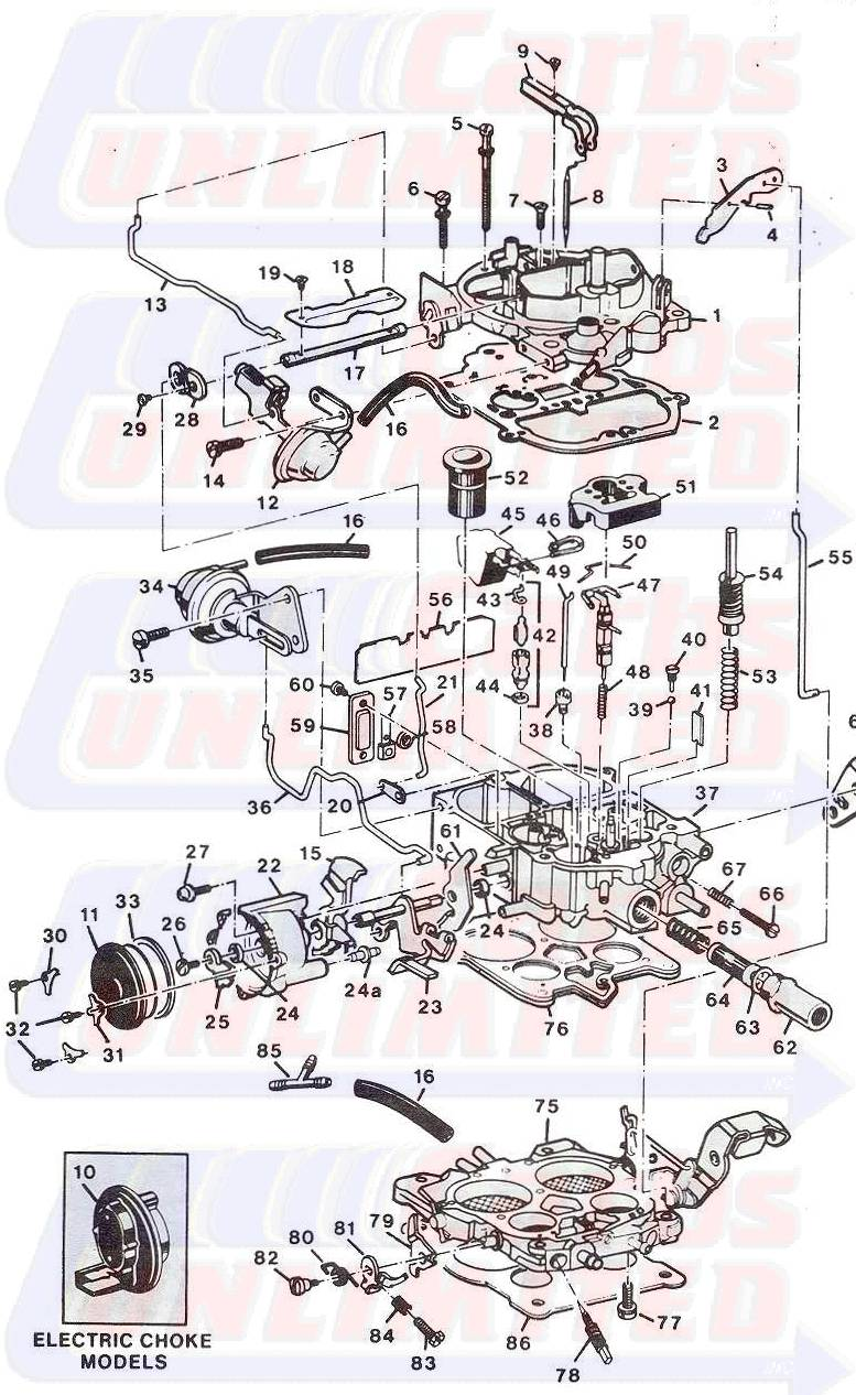 Rochester Quadrajet Vacuum Diagram http://www.carburetion.com/Quads/M4MC-E.htm