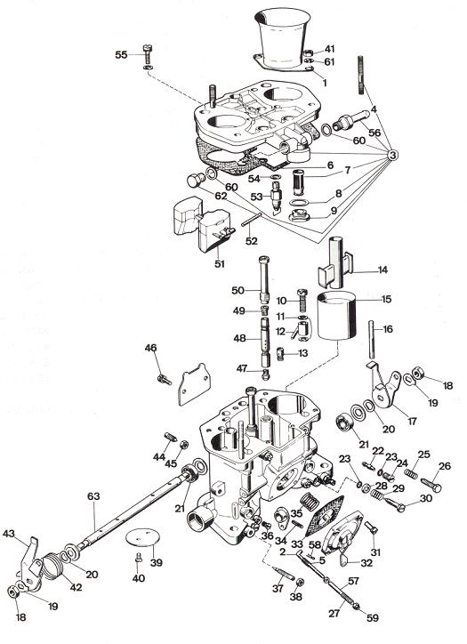 48 idf diagram rh carburetion com Wiring Diagram Symbols Basic Electrical Schematic Diagrams
