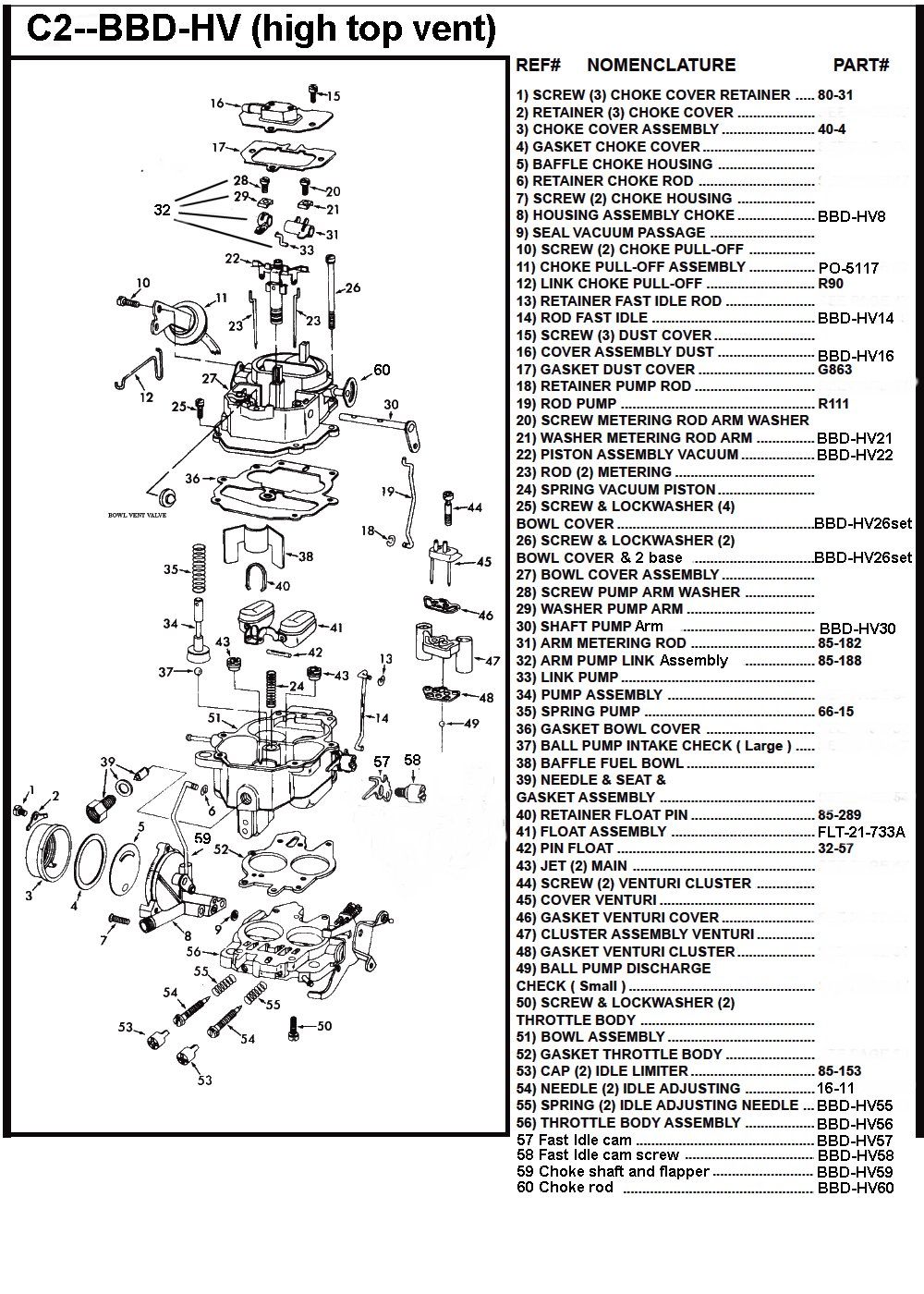 C Bbd Hv on Carter Carburetor Diagram
