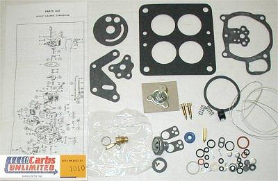 Classic Carburetor Kit - Holley 2140 4000