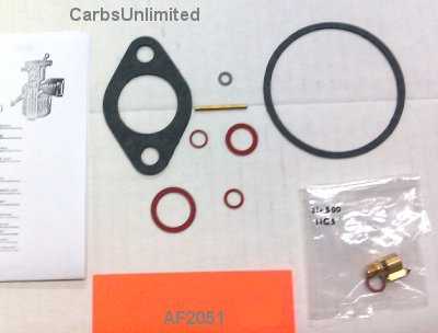 Classic Carburetor Kit - Carter Brass Bowl