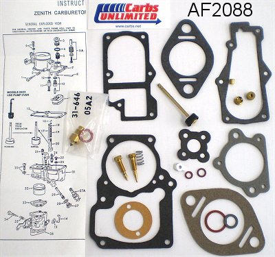 Classic Carburetor Kit - Zenith 28-228