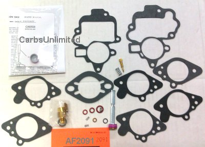 Classic Carburetor Kit - Carter BBR-1