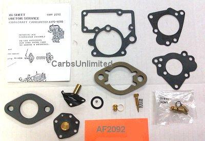 Classic Carburetor Kit - Carter YS