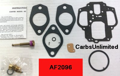 Classic Carburetor Kit - Carter AS
