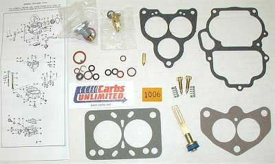 Classic Carburetor Kit - Holley 2100 AA-1 94 2bbl