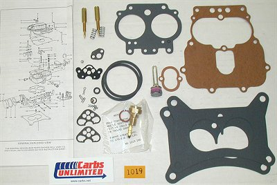 Classic Carburetor Kit - Carter ABD