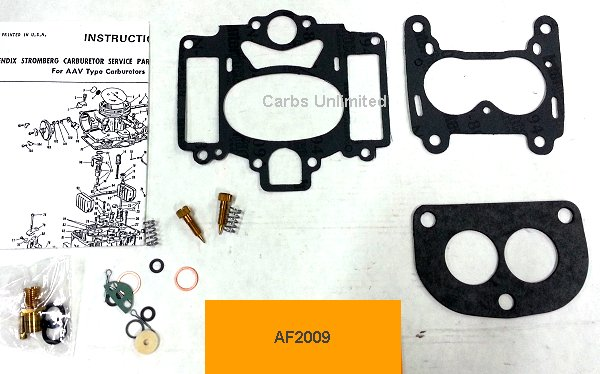 Classic Carburetor Kit - Stromberg AA1 (Rear Only)