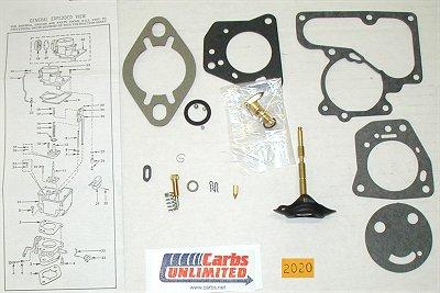 Classic Carburetor Kit - Carter YF