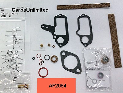 Classic Carburetor Kit - Carter W1