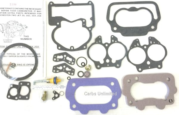 CARB KIT Rochester 2 2GV