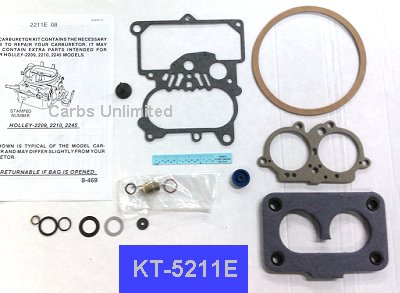 CARB KIT Holley 2bbl  DODGE