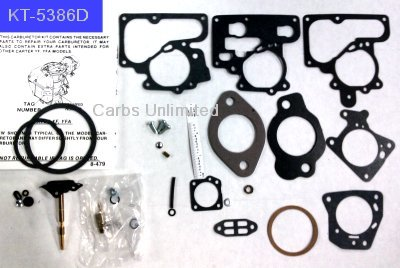 Carb Rebuild Kit C1 YFA