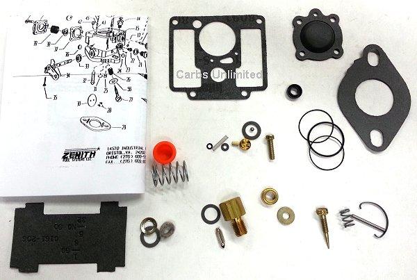 Quadrajet Rebuild Kit Instructions
