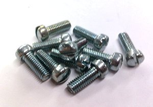 Sloted Fillister Head Screw 6-32 x 3/8