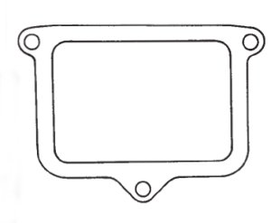 Fuel Window Seal Cover Gasket fits Hitachi