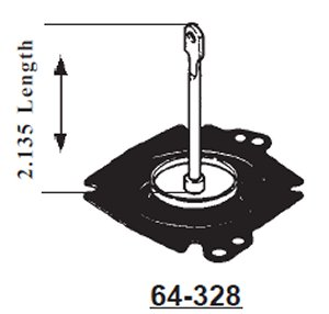 Governor Diaphragm Assy fits Holley
