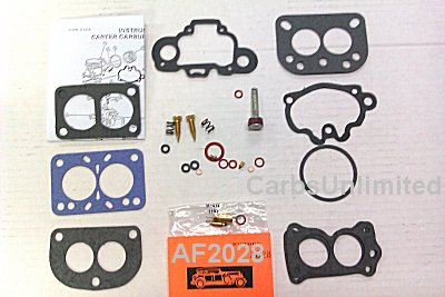 Classic Carburetor Kit - Carter WDO