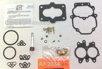 Classic Carburetor Kit - Carter BBD