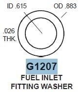 Fuel Inlet Gasket