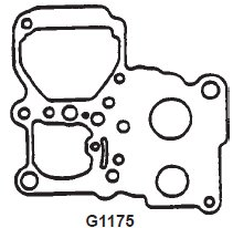 Gaskets for Rochester VaraJet Carburetors