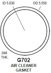 Gasket - Air Ring