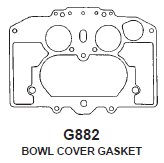 Gaskets for Carter Thermoquad Carburetors