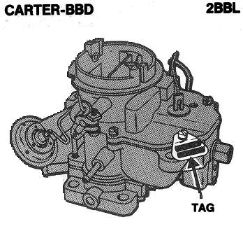 Carter YF Carburetor Choke Retainer Ring with Screws 1 Barrel