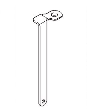 Accelerator Pump rod for round pump Rochester 1