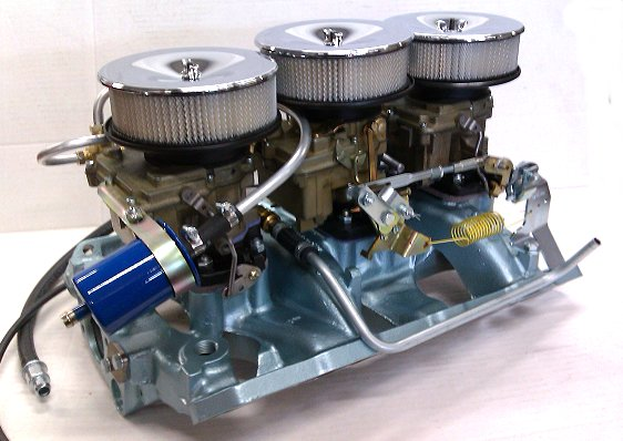 Complete Pontiac Tri-Power Setup (LIMITED)